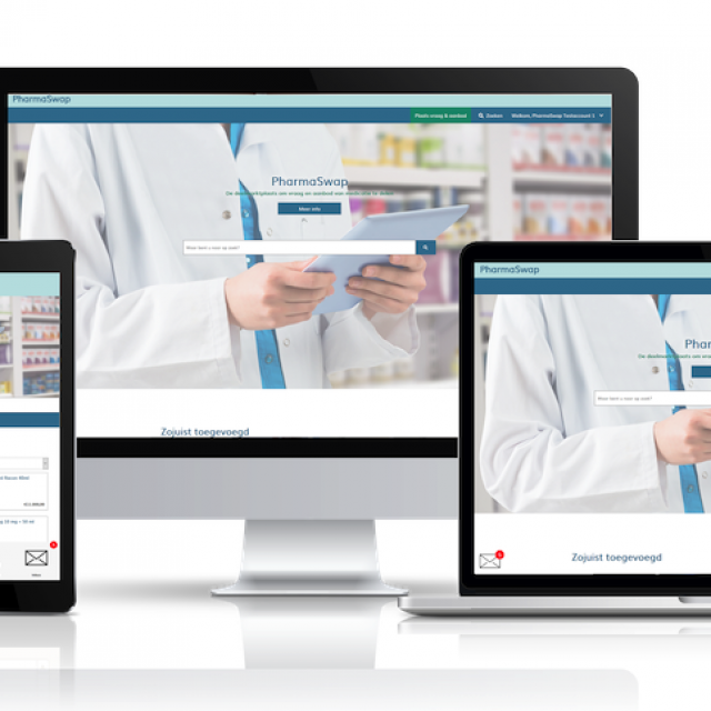Goed nieuws voor PharmaSwap: IGJ geeft apothekersplatform 1 jaar de tijd